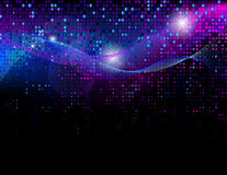 Abstract disco background Stock Images