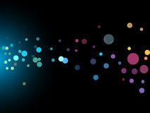 Abstract disco background Royalty Free Stock Photo