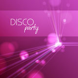 Abstract disco background Royalty Free Stock Photography