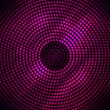 Abstract disco background with halftone. Royalty Free Stock Images