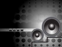 Abstract disco background,  illustration Stock Images