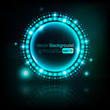Abstract disco background. Vector eps 10 Royalty Free Stock Photo