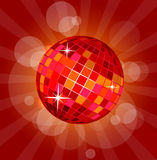 Abstract disco ball. Illustration of abstract disco ball Royalty Free Stock Photography