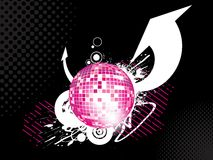 Abstract disco-ball background Stock Photo