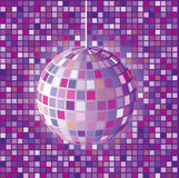 Abstract disco ball background Royalty Free Stock Photo