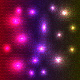Abstract disco glowing of background. Glow Stock Images