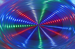 Abstract disco light rotation, discotheque, Stock Photography