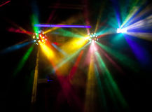 Abstract disco lights Royalty Free Stock Photo
