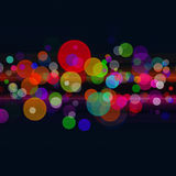 Abstract disco and party backgrounds Royalty Free Stock Images
