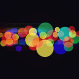 Abstract disco and party backgrounds Stock Image