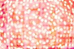 Abstract Disco Party red background. Sparkling bokeh with fracta Stock Photos