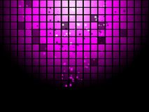 Abstract disco poster background Stock Image