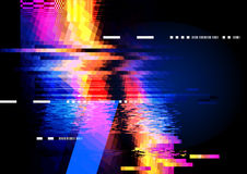 Abstract Displacement background royalty free illustration