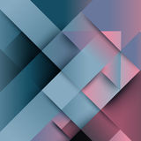 Abstract distortion from arrow shape background Royalty Free Stock Photography