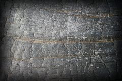 Abstract distressed burned wood Stock Image