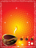 Abstract diwali background. Vector illustration Royalty Free Stock Images