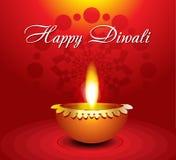 Abstract diwali background with diyali. Vector illustration royalty free illustration