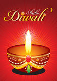 Abstract diwali background with raise. Vector illustration
