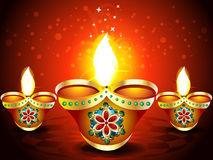 Abstract Diwali Background with sparkle Royalty Free Stock Photos