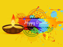 Abstract diwali background. Abstract style vector diwali background