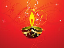 Abstract diwali background template. Illustration Stock Photos