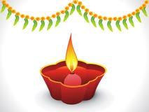 Abstract diwali background. Vector illustration Stock Photos