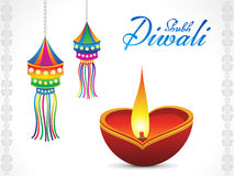 Abstract diwali background. Vector illustration Stock Photo