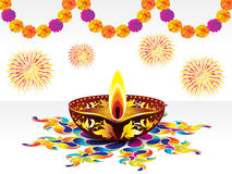 Abstract diwali background Royalty Free Stock Photos