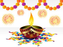 Abstract diwali background Royalty Free Stock Photo