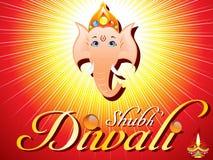Abstract diwali card Stock Image