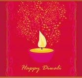 Abstract diwali celebration background. Illustration Stock Image