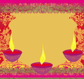 Abstract diwali celebration background Stock Photo