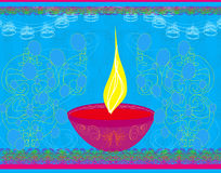 Abstract diwali celebration background Royalty Free Stock Photo