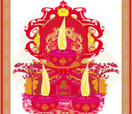 Abstract diwali celebration background. Illustration Stock Photo