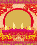 Abstract diwali celebration background Royalty Free Stock Photography