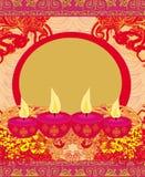 Abstract diwali celebration background. Illustration Royalty Free Stock Photography