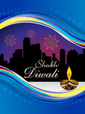 Abstract diwali wallpaper. Vector illustration Royalty Free Stock Image