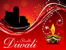 Abstract diwali wallpaper Royalty Free Stock Image
