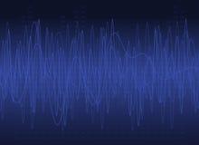 Abstract DJ Background stock illustration