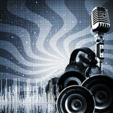 Abstract DJ Backgrounds Stock Image