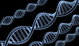Abstract DNA Royalty Free Stock Photos