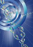 Abstract DNA background Stock Photos