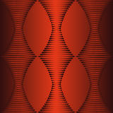 Abstract DNA background. In red Stock Photography