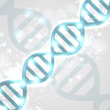 Abstract DNA Royalty Free Stock Images