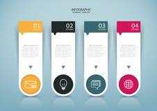 Abstract document de stijlontwerp van Infographics op de grijze achtergrond Stock Afbeeldingen