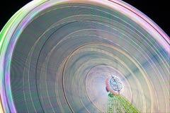 Abstract dollar. Dollar symbol in a ferris wheel Stock Image