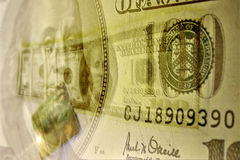 Abstract dollars Stock Photos
