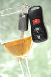 Abstract don't drink and drive Stock Photography
