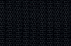 Abstract donker geometrisch patroon van prisma's De textuur van het meetkundenet De prismabloem stelt achtergrond voor Zwarte bru Stock Foto's