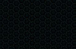 Abstract donker geometrisch patroon van prisma's De textuur van het meetkundenet De prismabloem stelt achtergrond voor Zwarte bru Royalty-vrije Stock Afbeelding
